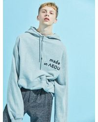 NOHANT - [unisex] Made In Seoul Hoodie Gray - Lyst