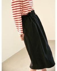 COLLABOTORY Volume Skirt - Black