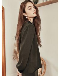 Blank Lace Soft Blouse - Multicolor