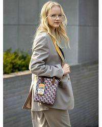 ROSA.K Cabas Monogram Tote Bag S - Multicolor