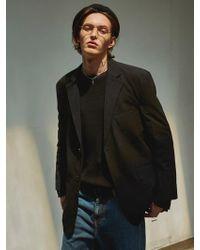 YAN13 - Flap Pocket Jacket Black - Lyst