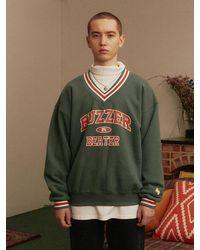 MAINBOOTH Buzzer Beater Sweatshirt - Green