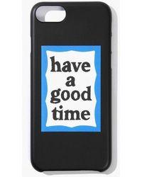 W Concept - [unisex] Blue Frame Iphone Case Black - Lyst