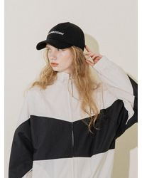 COLLABOTORY Lettering Ball Cap - White