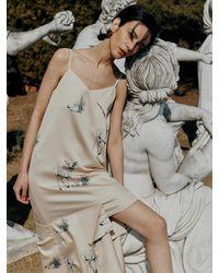 Low Classic New Print Dress - Multicolour