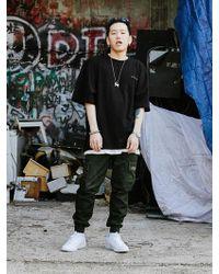 XTONZ - [unisex] Xt21 Dread 1 2 T Shirt Black - Lyst