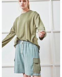 NOHANT Cargo Shorts Khaki - Natural