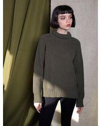 Petite Studio - Juniper Knit - Olive - Lyst