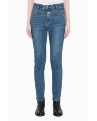 Marithé et François Girbaud Marithe Skinny X-jeans (women) Stone Blue