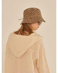 13Month Leopard Bucket Hat - Brown