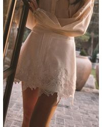Blanc & Eclare - Rtw_bennett Skirts - Lyst