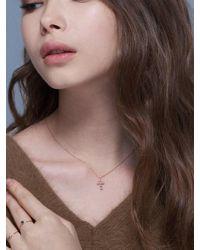 G. TATIANA - 14k Ariel Cross Necklace - Lyst