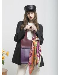 Atelier Park - Line Tote Bag_big Purple - Lyst