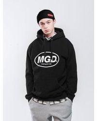 MAHAGRID [priority Shipping] Mgd Hoodie 3 Colors - Black