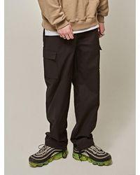 YAN13 Training Cargo Trousers - Black