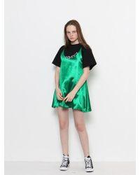 W Concept - Petit Dress Green - Lyst