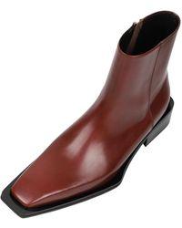SO.U:LESURES Demain Boots - Brown