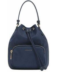 Lapalette Essential Nylon Bucket Bag Be1ai304-23 - Blue