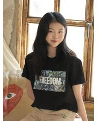 Chubasco - M T Shirt Weed Sb Black M17104[unisex] - Lyst