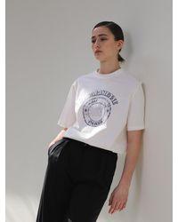 AEER La Parisienne R T-shirt - Black