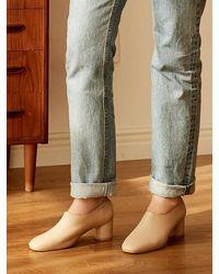 MARONY CROSHET Mc 006 Mid Court Shoes Beige - Natural
