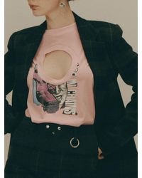 Fleamadonna 2 Way Round Neck T-shirt - Multicolor