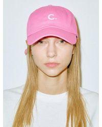 Clove Basic Fit Ball Cap Pink
