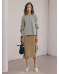 J.CHUNG Double Belt Skirt - Multicolour
