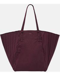 MUTEMUSE Plis Bag Plum - Purple
