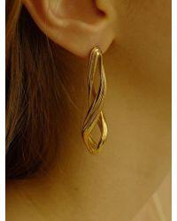 FLOWOOM - Flow Twist Earring 1 Piece - Lyst