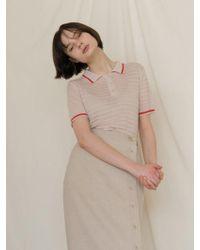 among - A Pk Stripe Knitwear - Lyst