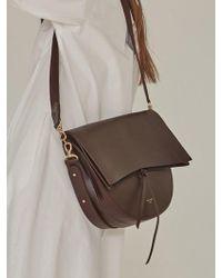 Low Classic - Half Moon Bag Burgundy - Lyst