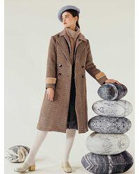 Petite Studio Britta Wool Coat - Brown