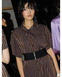 NASTY HABIT - Oversize Stripe Shirt - Lyst