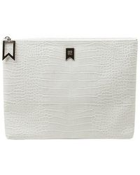 ANDSEEYOU - Mabel Clutch Ha1320 White - Lyst
