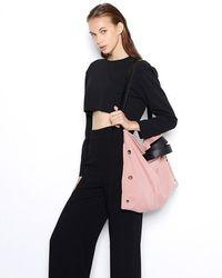 VIVICHO - Suede Shoulder Bag In Pink - Lyst