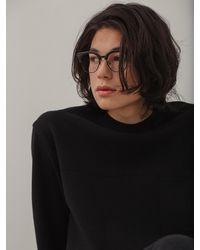 VIABON DE VIA Merino Wool Milano Round Knit - Black