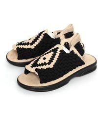 Chubasco Aztec Sandals Sand Sand Black A00061