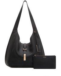 Joy Gryson Kaia Hobo Bag Lw0sd4200 - Black