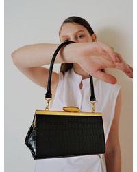Reike Nen Rl4-bg005 / Pebble Short Mini Bag - Black