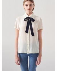Blanc & Eclare - Diana Blouse Ss3523iv - Lyst