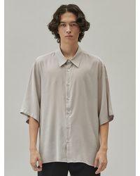 Add Bamboo Shirt Grey