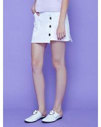 Margarin Fingers - Unbalance Skirt - Lyst