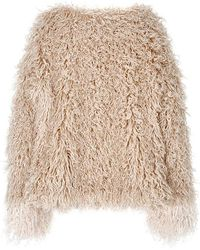 Jin Jin Island - Poodle Faux Fur Jacket - Lyst