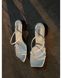 Reike Nen Odd Pair Flat Sandals - White