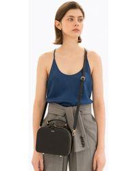 DEMERIEL - Box Bag Black Mini - Lyst