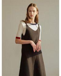 among - A Slim Colour Knitwear - Lyst