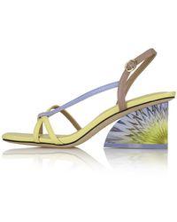 Yuul Yie Soa Sandals Pale Lemon - Multicolour