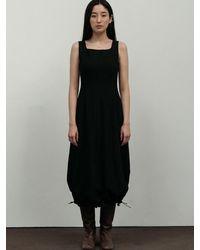 Amomento Volume Dress - Natural