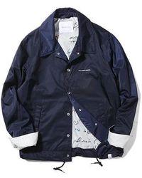 LIFUL MINIMAL GARMENTS - [unisex]f Y Coach Jacket Navy - Lyst